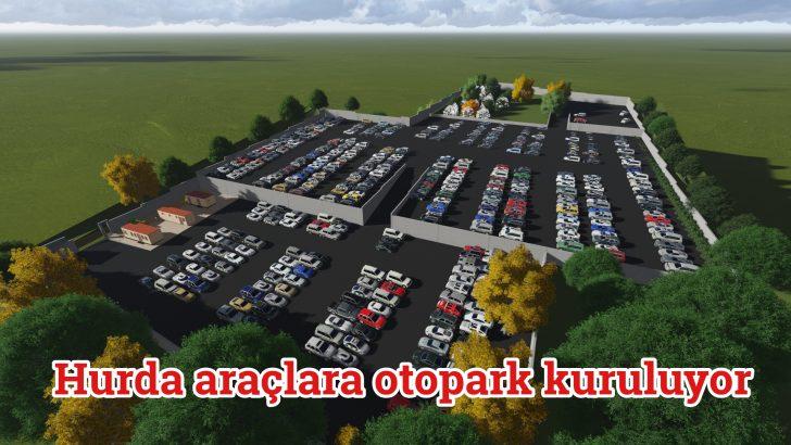 Büyükşehir, hurda araçlar için otopark kuruyor