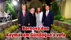 Bornova'dan Kaymakam Gündoğan'a vefa