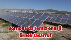 Bornova'da temiz enerji, örnek tasarruf