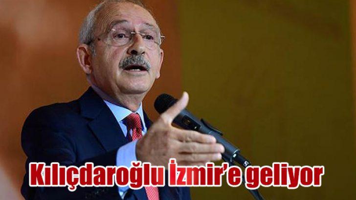 Kılıçdaroğlu İzmir'e geliyor
