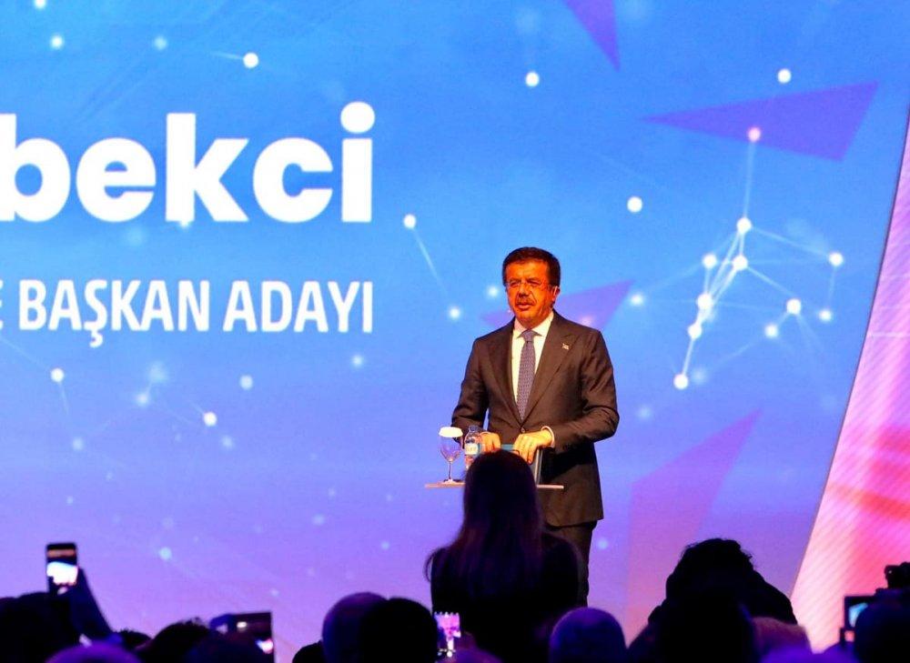 İşte, Nihat Zeybekci'nin İzmir projeleri....