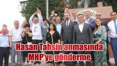 Konak'ta Şehit Gazeteci Hasan Tahsin anması….